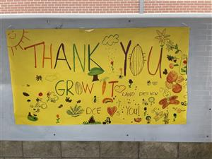 Thank You Grow It Land Designs