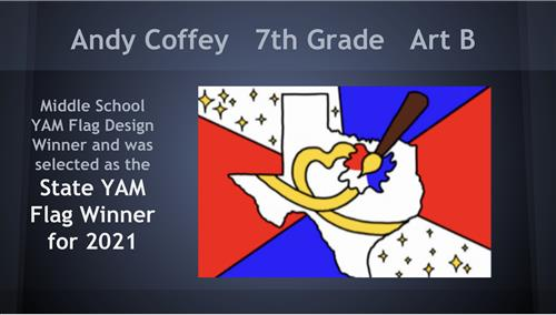 Youth Art Month State Flag Winner