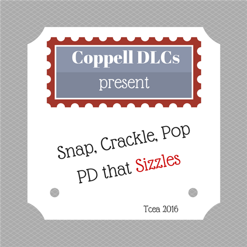 Coppell DLCs present: Snap, Crackly, Pop PD that Sizzles