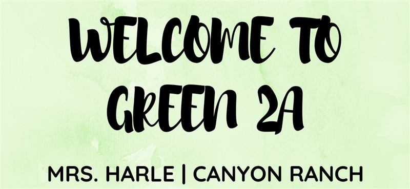 Welcome to Green 2A