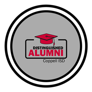 Distinguished Alumni Award recognizes individuals who have attended Coppell High School (including those from Victory Place @