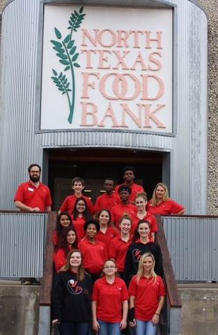 VP@C Learners Serve at North Texas Food Bank