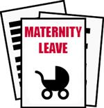 Maternity Leave Button