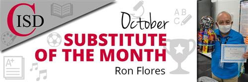 Ron Flores October Sub of the Month